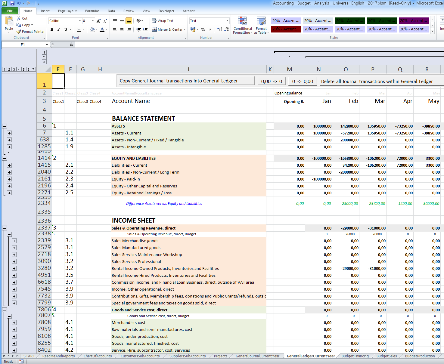 excel budgeting software